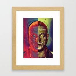 Typeface Disease Framed Art Print