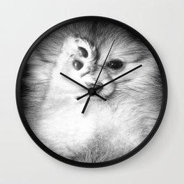 Vogue Pomeranian Wall Clock