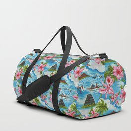Hawaiian Scenes Duffle Bag