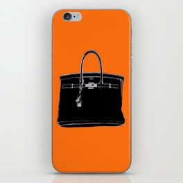 FRENCH CLASSIC BAG iPhone Skin