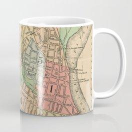 Vintage Map of Hartford Connecticut (1903) Coffee Mug