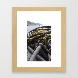 Lite Lunch Framed Art Print