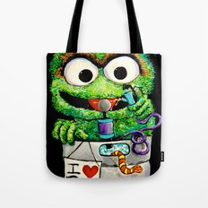 THE GROUCH Tote Bag