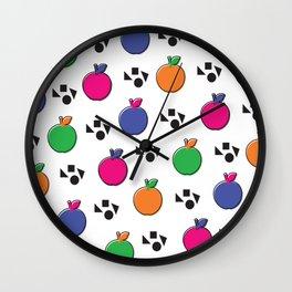 School Pop Wall Clock