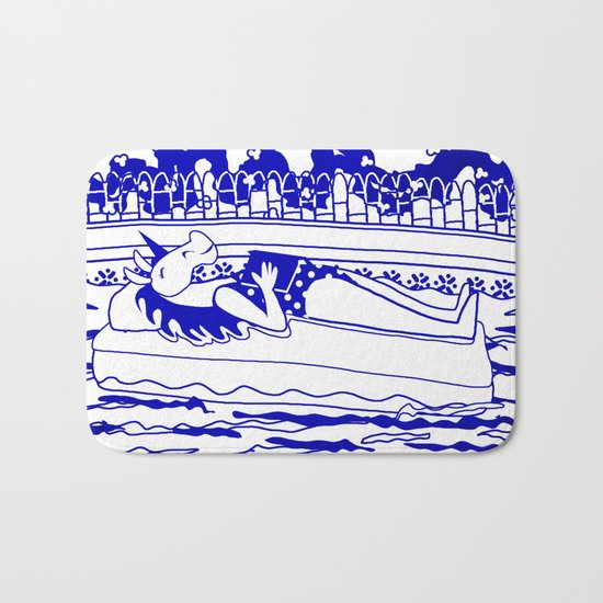 Pool Time Unicorn V2 Bath Mat