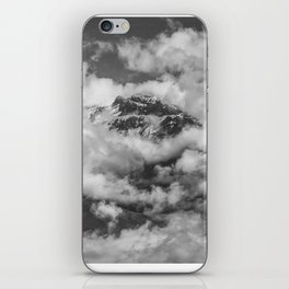 Volcano Chachani Covered by Clouds iPhone Skin