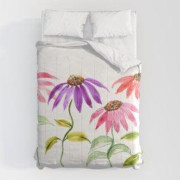 Dancing Flowers Comforters