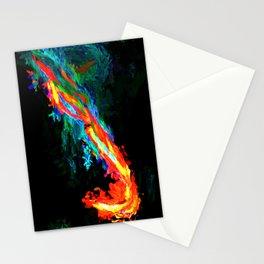 Abstract Print #1 Stationery Cards