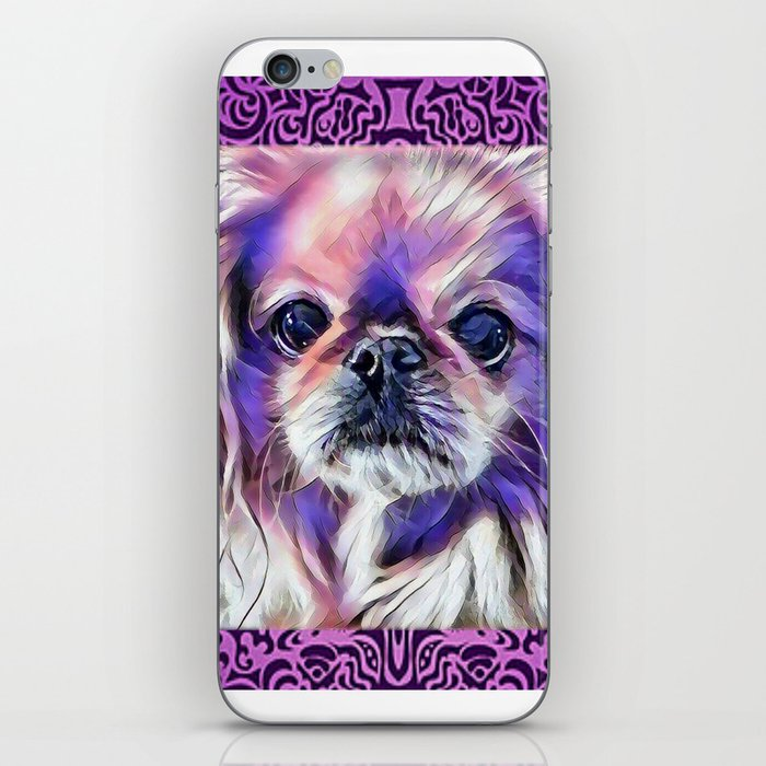 Peak in purple iPhone Skin