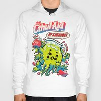 wicked Hoodies featuring CTHUL-AID by BeastWreck