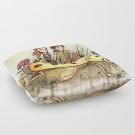 Ladybug Friends Floor Pillow