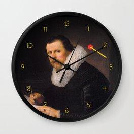 A very narrow escape Wall Clock