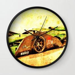 Jaguar Le Mans 2015 Wall Clock