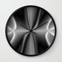 Metallic Chromosome Wall Clock