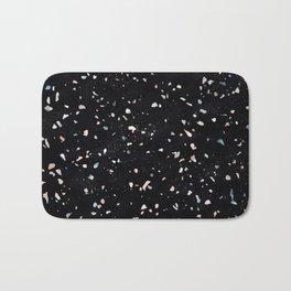 Terrazzo Memphis black galaxy Bath Mat