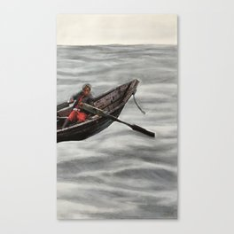 Boating Out Canvas Print