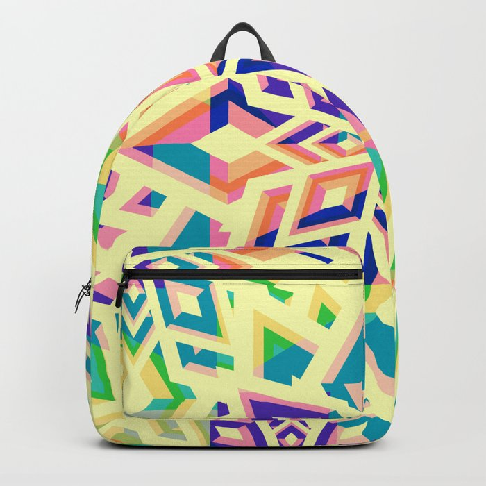 Decorative floral pattern for Christmas Backpack