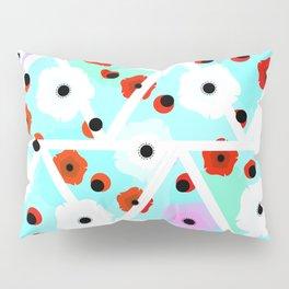 Poppies field- triangles Pillow Sham