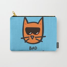 Bad Cattitude Carry-All Pouch