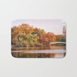 Autumn Colors Are the Best Colors - New York City Bath Mat