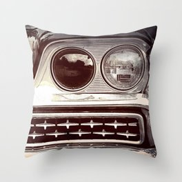 Rebel // Classic Car Throw Pillow
