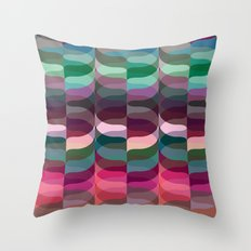 Geometric Abstraction #7 Throw Pillow