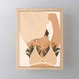 Let Your Body Breathe Framed Mini Art Print