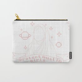 protect muslim girls Carry-All Pouch