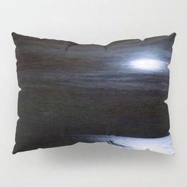 Moon Over Lake Michigan Pillow Sham