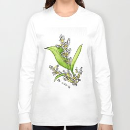 Small Flowers Long Sleeve T-shirt