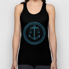 Anchor & Scales Unisex Tank Top