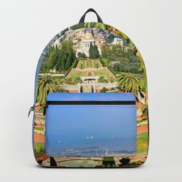 Bahai Gardens Backpack