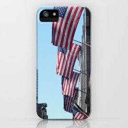 Land of the Free iPhone Case