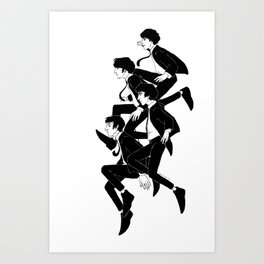Hard Day's Night Art Print