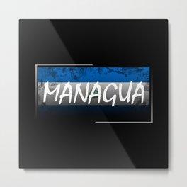 Managua Metal Print