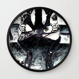 And out come the wolves Wall Clock