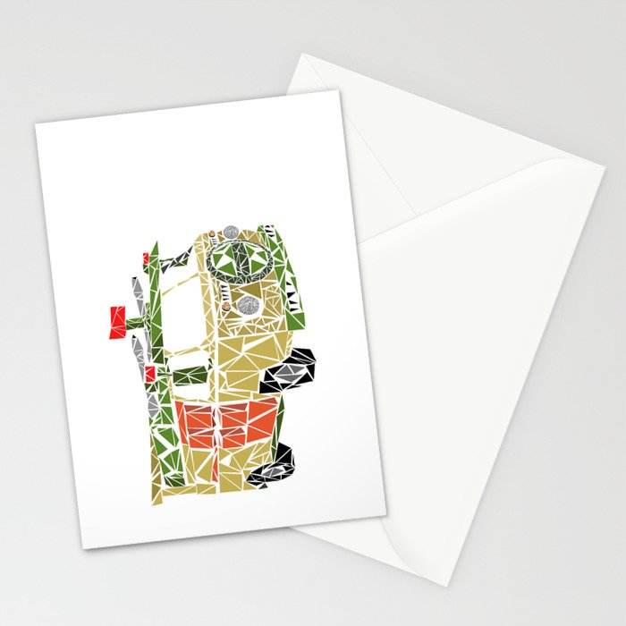 The Turtle Van Stationery Cards