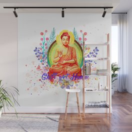 Chill out homie watercolor Wall Mural