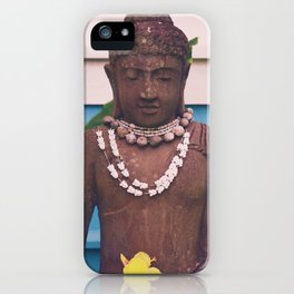 Vintage Kauai Buddha iPhone Case