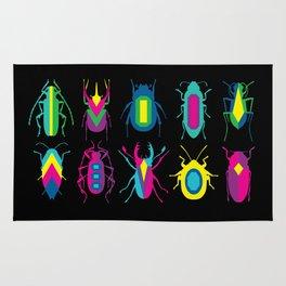 beetle brooches Rug