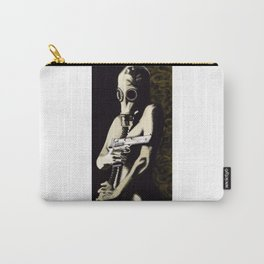 Gas Mask Girl Carry-All Pouch