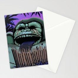 Three headed monkey Stationery Cards