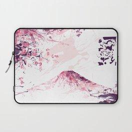FUJI mountainsplash pink Laptop Sleeve