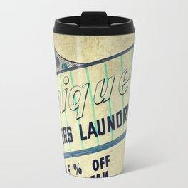Unique Laundry Sign Travel Mug