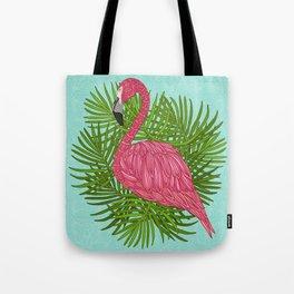Tropical Flamingo Tote Bag