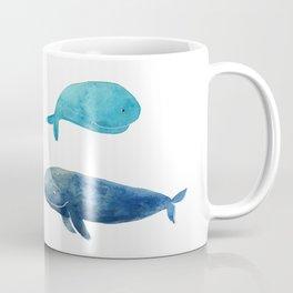 Cool whales Coffee Mug