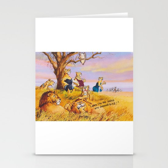 natural born killers Stationery Cards