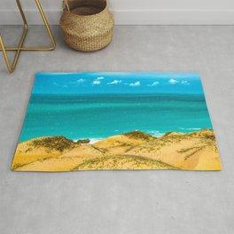 Dunes and Ocean Jericoacoara Brazil Rug