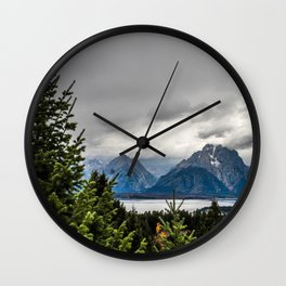Grand Tetons Wall Clock