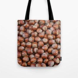 Hazelnuts Illustration Tote Bag